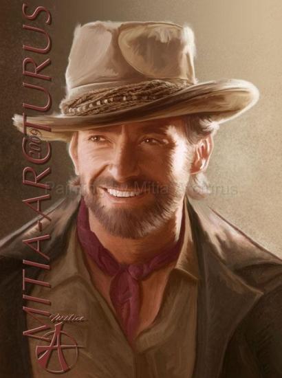 Hugh Jackman por Mitia_Arcturus